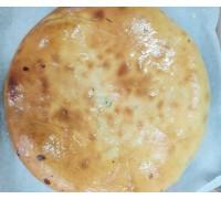 Осетинский пирог с мясом (или курицей), грибами и сыром