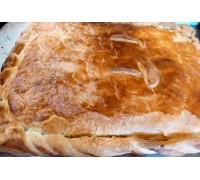 Пирог с говядиной, грибами и картофелем