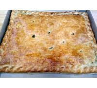 Пирог с бараниной и картофелем