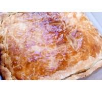 Пирог с капустой и фасолью
