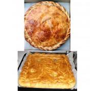 Пирог с говядиной (или свининой) и картошкой