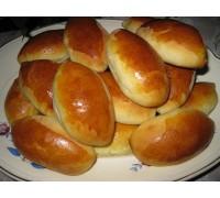 """Пирожки """"Малютка"""" с печенью и картофелем"""
