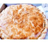Пирог с грибами картофелем и сыром