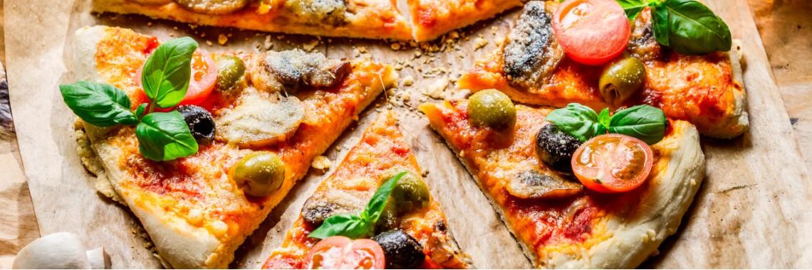 Большой выбор пиццы на любой вкус